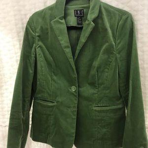 INC Velvet Green Blazer size M